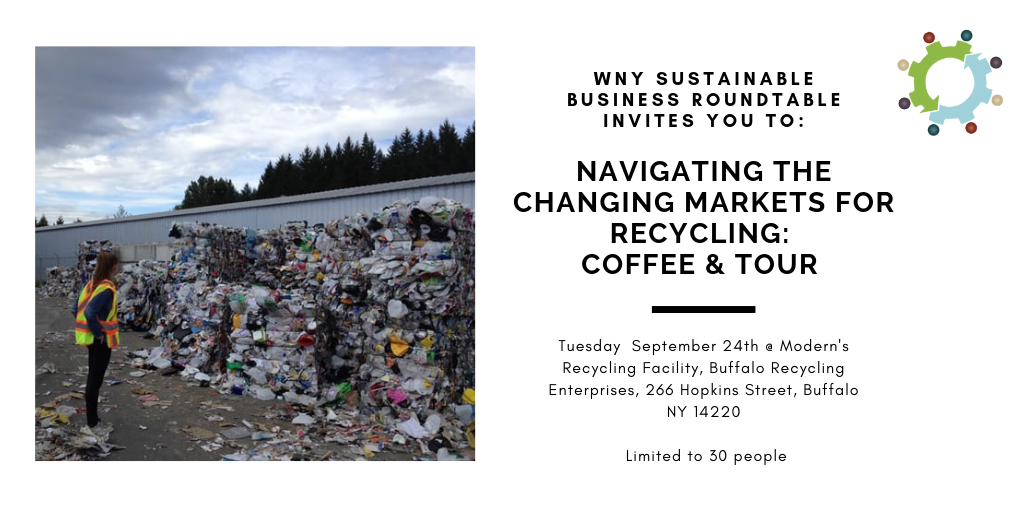 Navigating the changing markets for recycling: Coffee, Discussion & Tour at Modern's Single Stream Recycling Facility