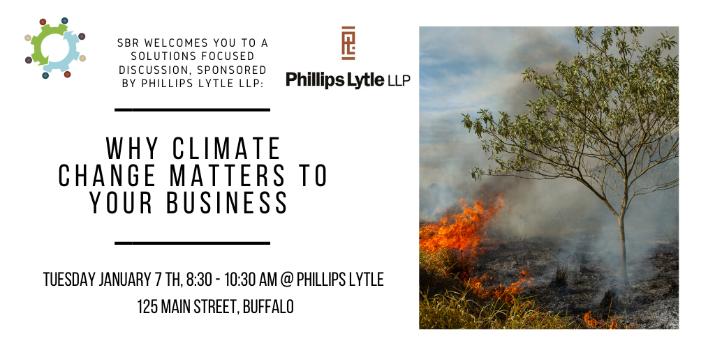 Why Climate Change matters to your Business @ Phillips Lytle