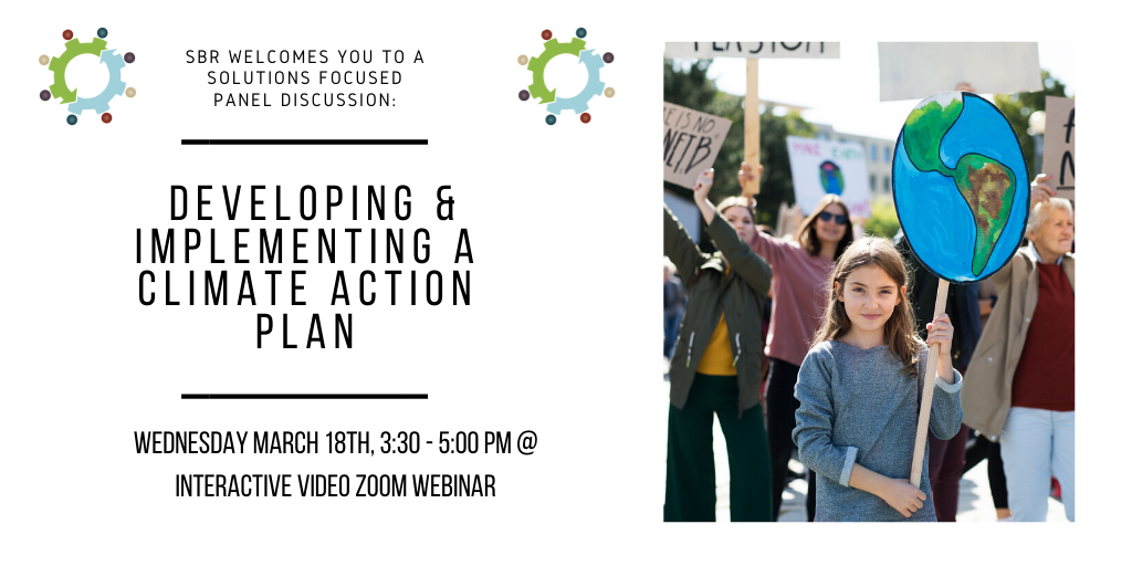 A Panel Discussion on The How: Developing and implementing a Climate Action Plan