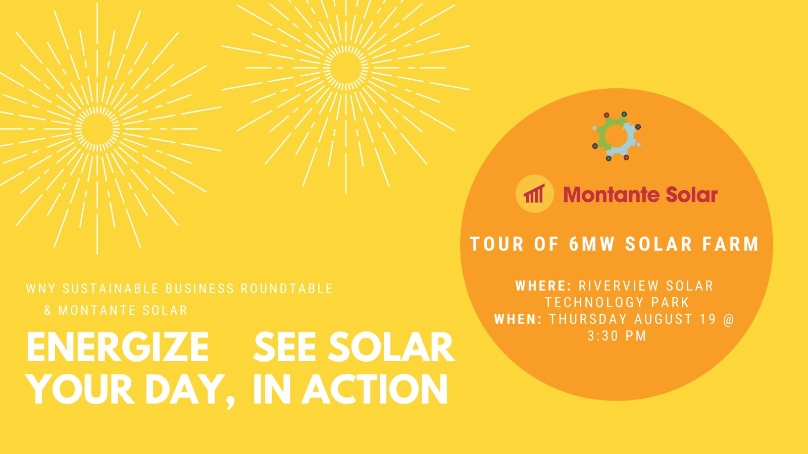 Tour of 6MW Solar Farm at Riverview Solar Technology Park